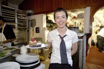 Mariya Prodanova at Cafe Moxie