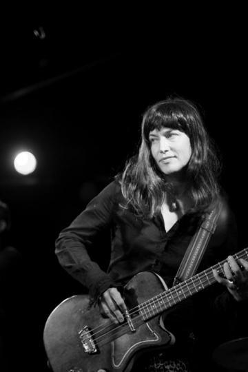 Barbara Puciul on guitar