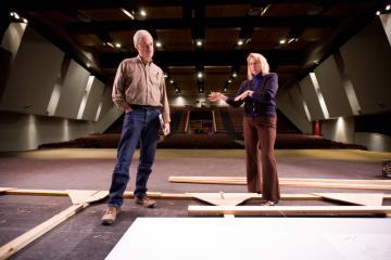 Paul Brissette and Anne Grandin