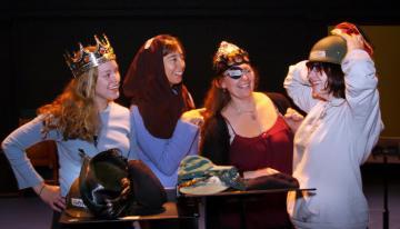 Katharine Pilcher, Nicole Galland, Chelsea McCarthy, Geneva Monks