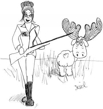 Palin moose