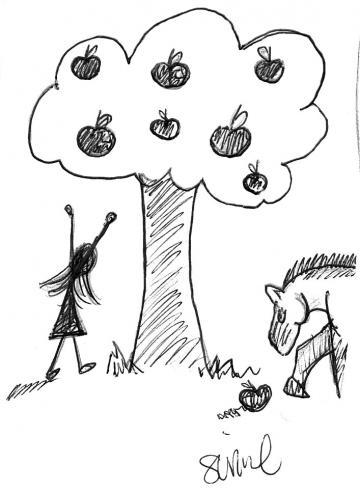 Seniel Ward drawing