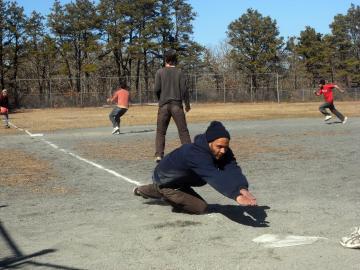 kickball slide