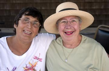 Catherine and Patricia