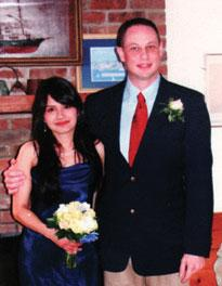 Marcela Wandurraga and Christopher Habekost