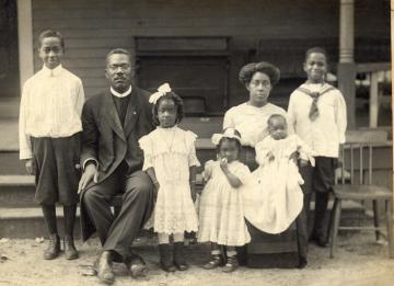 Rev. Denniston & family