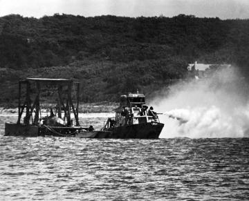 Jaws filming
