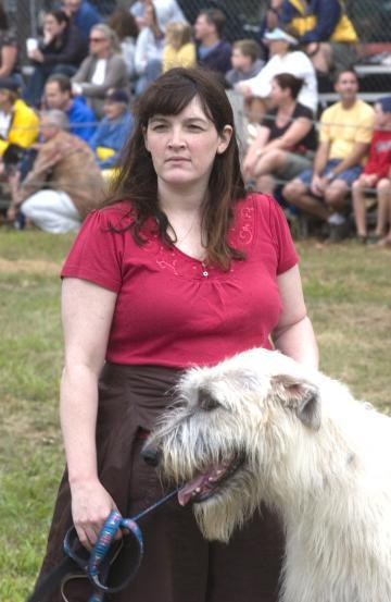 Ellen Irish wolf hound