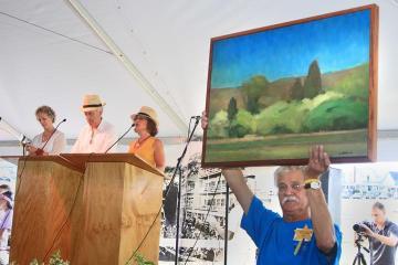 Jim Pringle painting