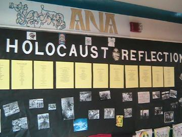 Holocaust display