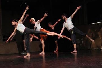dancers stretch