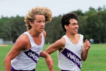 Cooper Chapman Michael Schroeder cross country