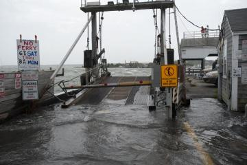 flood dock storm