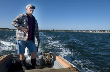 Steve Ewing boat