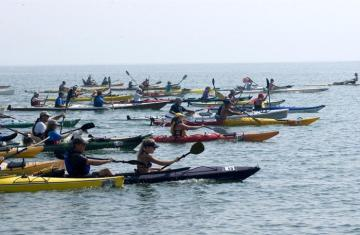 kayak regatta paddle boats