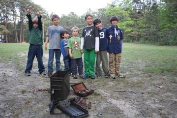 cub scouts treasure