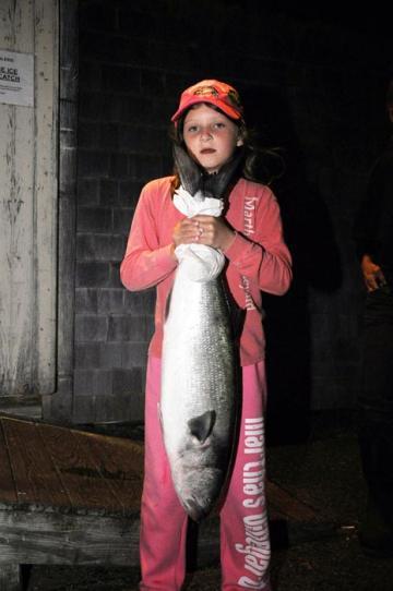 Chelsea Bouchard bluefish