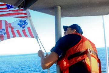 Nick Meegan flags