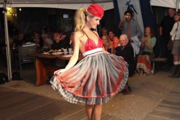 Karen Russillo dress model