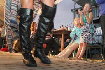 Lilly Kurelja Kya Maloney runway fashion show