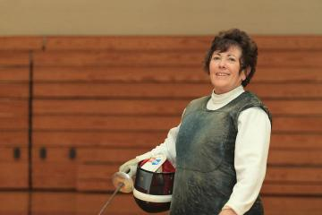 Ann Russell fencing