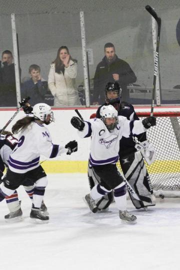 Celia Mercier girls ice hockey