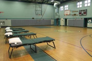 Gymnasium cots