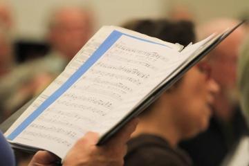 chorus music book choir