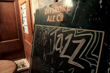 jazz blackboard offshore ale
