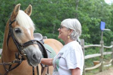 Meg horse