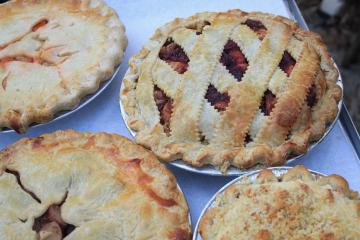 savory pies lattice fruit