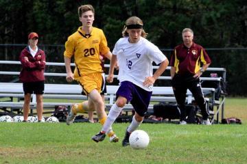 Junior Kyp Cooperrider soccer