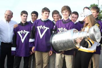 stanley cup boys hockey team