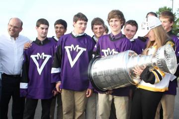 stanley cup boys hockey team