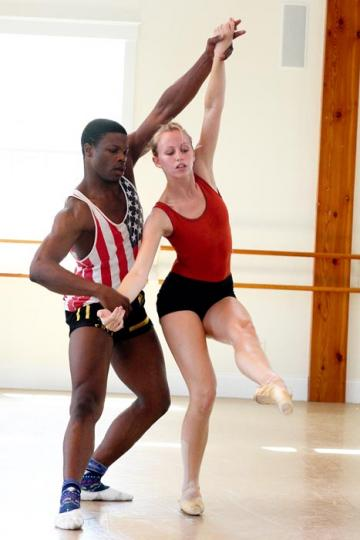 Marlon Taylor-Wiles Sara Berry dancer American