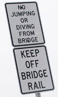 bridge bridge signs