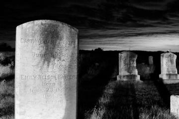 grave stones cemetery