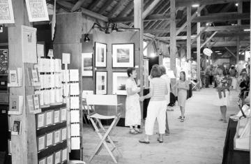 art exhibit barn