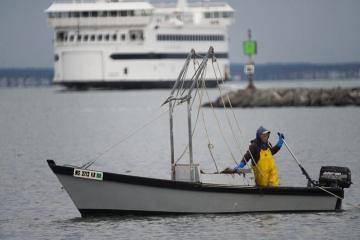 Lynne Fraker ferry scallop boat