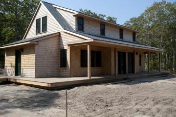house construction site dirt