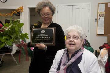 Tisbury Senior Center Cora Medeiros Joyce Stiles Tucker award