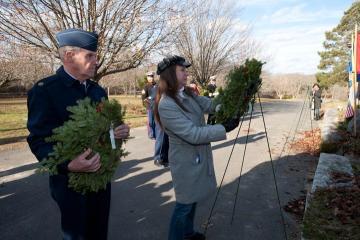 Wreaths Across America Oak Grove Cemetery