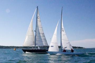 sailboats ocean