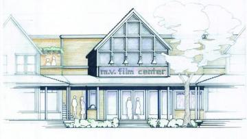 illustration architectural rendering film center