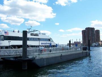 Seastreak ferry boat