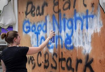 graffiti Good Night Irene