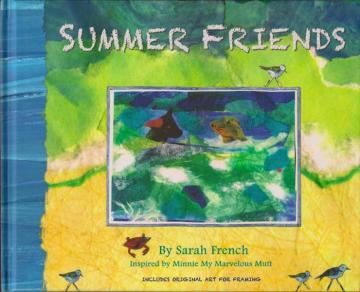 book cover summer friends