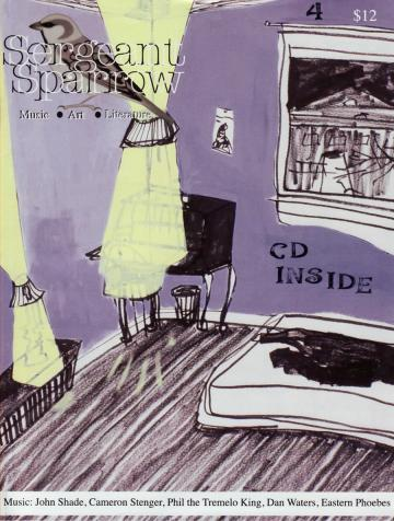 Sergeant Sparrow CD cover yellow curtains
