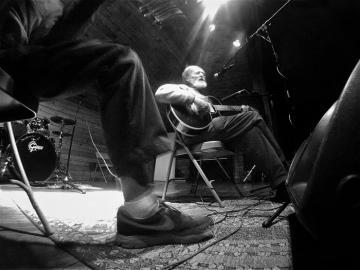 Rick OGorman, George Davis musicians jam