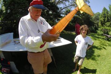 Dick Everett model airplane